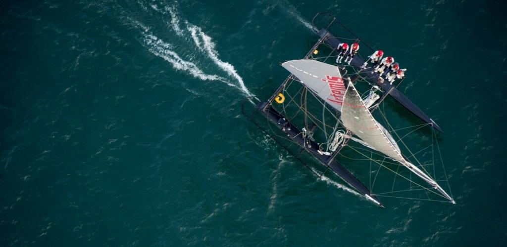 Vulcain Trophy 2012 - Bol d\'Or Mirabaud - Artemis Racing / Copyright : Loris Von Siebenthal.com