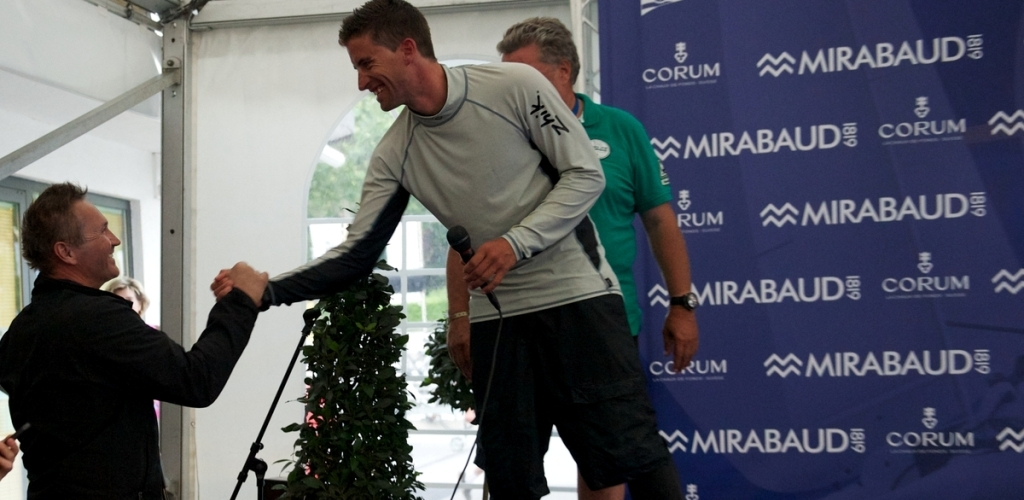 Vulcain Trophy 2012 - Bol d\'Or Mirabaud - P. Cardis et J. Clerc / P. Menoux
