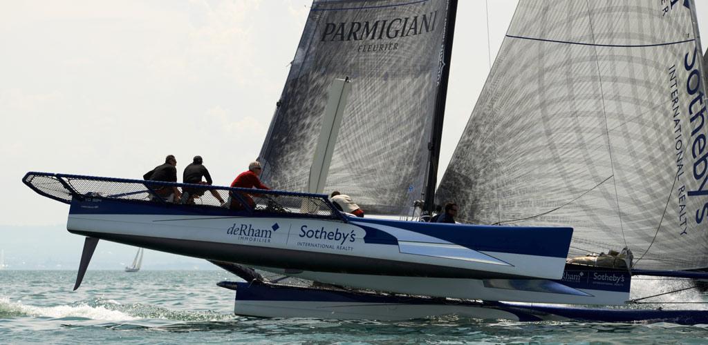Vulcain Trophy / 2012 Open de Crans / M. Desjoyeaux, Artemis Racing / P. Menoux