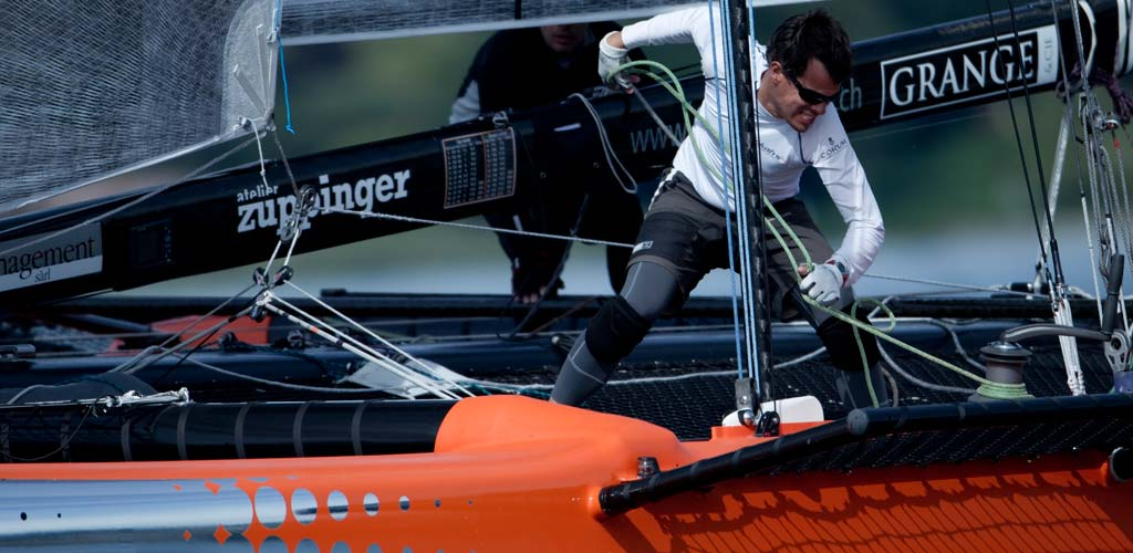 Damien Cardenoso en plein effort sur Okalys-Corum / 2011 / photo P. Schiller - myimage