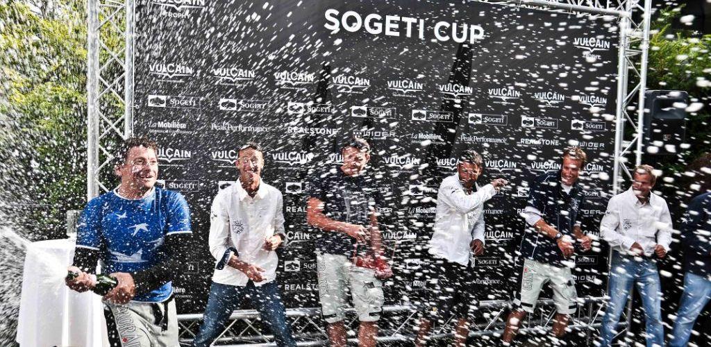 Steve Ravussin à la fête / Sogeti Cup 2011 / photo S. Bonny